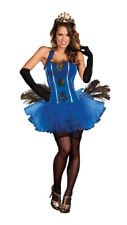 Royal Peacock Women's Sexy Bird Costume size Medium