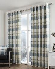 Checked Modern Curtains & Pelmets