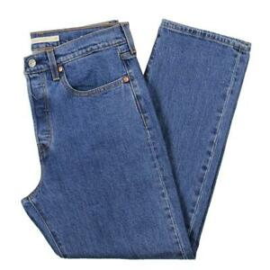 Levi's Womens Wedgie Denim High Rise Ankle Classic Straight Jeans BHFO 6398