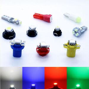 10x Seat Tacho LED White Blue Red Tachobeleuchtung Lamp Socket B83d Ba5d BAX10