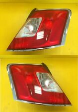 Taillight Pair Ford Taurus 2010-2012 Chrome Edging FO2819141 & FO2818141