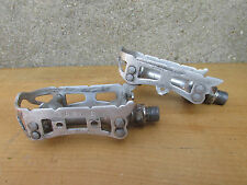 GIPIEMME GPM DUAL SPRINT VINTAGE PEDALES VELO COURSE ROAD RACING BICYCLE PEDALS