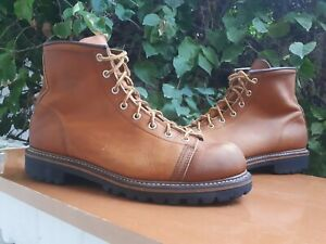 Red Wing 2903 Men's Brown Leather Monkey Boots Size USA 10 D || UK 9