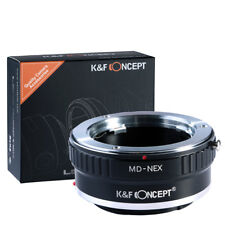 K&F Concept Adapter for Minolta MD MC Lens to Sony E-Mount Camera A7R2 A7M3 A7S
