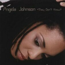 ANGELA JOHNSON - THEY DON'T KNOW  CD NEU