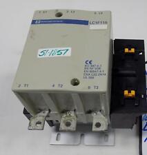 TELEMECANIQUE 175A 600VAC 3P MOTOR CONTACTOR LC1F115