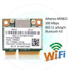 100PCS Atheros AR5B22 300Mbps Dual Band PCI-E WLAN Wireless Wifi Card BT 4.0