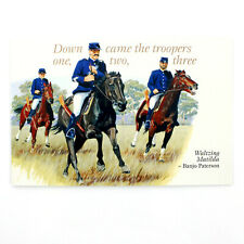 Australian Made Banjo Paterson Greeting Gift Card Waltzing Matilda Troopers