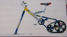 Ktrak Snow Bike Cycle skis track wheel ski complete winter sports downhill sled