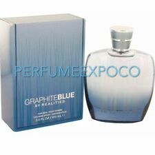 GRAPHITE BLUE REALITIES by Liz Claiborne MEN Cologne 3.4oz-100ml SPR Rare (B016