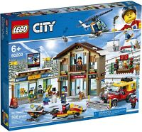 Lego City Ski Resort Construction Kit (60203) Building Kit 806 Pcs