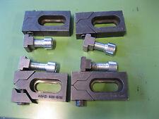 """4 Stück Tiefspannbacken """"Bulle"""" AMF 6490/18 Spannbacken Flachspanne T-Nut"""