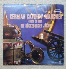 German Calvary Marching Band Music Vinyl LP Decca London ffrr SW.99400 VG+