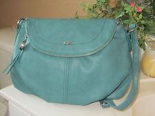 ELLE NWT $69 CLARA mini flap crossbody JADE women's handbag purse