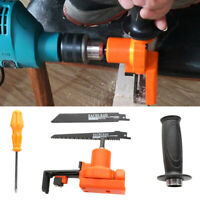 Cordless Reciprocating Saw Metal Cutting Wood Working Cutting Tool with Blades