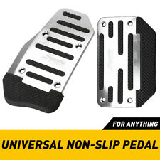 New ListingUniversal Silver Non Slip Automatic Gas Brake Foot Pedal Pad Cover Accessories