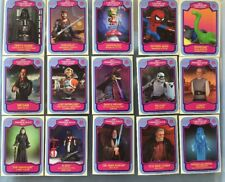 STAR WARS SDCC  PROMO CARD SET  OF 15! Complete!! COMIC CON
