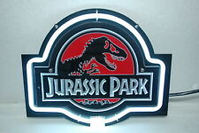 """Jurassic Park 3D Carved Neon Sign 14""""x10"""" Lamp Light Beer Bar With Dimmer"""