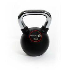 Gym Gear Premium Rubber Kettlebells 8 - 32kg All Sizes In Stock Home Gym Fitness