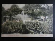 London BRIXTON / HERNE HILL Brockwell Park OLD GARDEN FOUNTAIN c1904 by Stengel