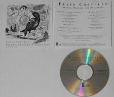 Elvis Costello - Secret, Profane and Sugarcane - 2009 U.S. promo cd