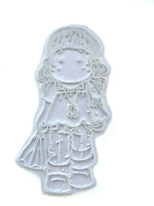 Magnolia TILDA GOES SHOPPING Cling Foam Backed Rubber Stamp