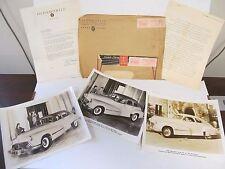 1947 Oldsmobile  Publicity Press Release Kit New Sales Set 47 Olds