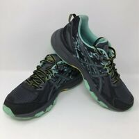 ASICS Womens Gel Venture 6 Running Shoes Black T7G7N Mesh Low Top Lace Up 9.5 D