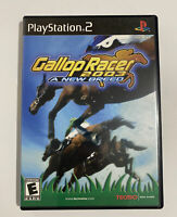 Tecmo Gallop Racer 2003: A New Breed - Case & Reg Card - PS2 - PlayStation 2