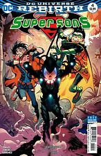 SUPER SONS #4 STANDARD COVER