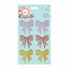 Do-crafts 3D Bows (6pcs) - Bellissima for cards and crafts