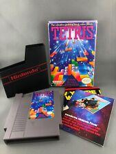 Tetris 1 Nintendo NES CIB Complete Box Manual Good Condition
