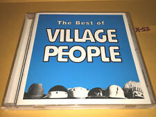 BEST of VILLAGE PEOPLE hits CD in the navy YMCA go west MACHO MAN cant stop musi