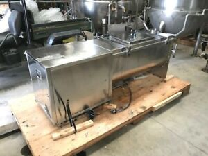 7.5 Cu.Ft. Stainless Steel Ribbon Blender built by LZ company