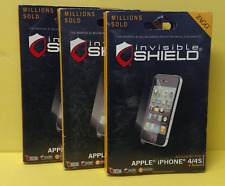 Zagg Invisible Shield Film Screen For Apple iPhone 4/4s ~ Free Shipping