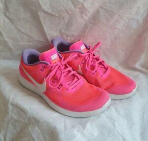 Nike Free RN Pink Damen Turnschuhe Größe EU 41 US 9,5 UK 7 TOP