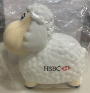 RARE HSBC SHEEP MONEY BOX!!!