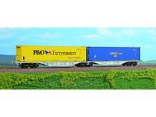 perACME 40290 vagone doppio container p o Swap asse opzionale märklin gratis