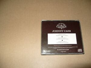 JOHNNY CASH Country Classics Readers Digest No Front Booklet 3 cd Ex/Nm (L.S.)