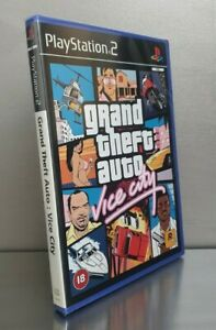 Sealed Grand Theft Auto: Vice City PS2 Playstation 2☆Brand New Case☆Renewed☆Mint