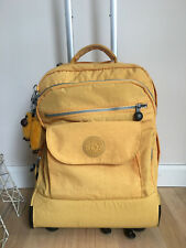 KIPLING Yellow Rolling Backpack