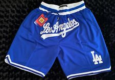 LOS ANGELES DODGERS JUST DON MITCHELL AND NESS SHORTS