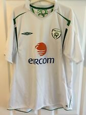 2005/2006 Republic of Ireland away football shirt Umbro Eircom XL men's rare