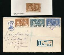 Royalty George VI (1936-1952) Gold Coast Stamps