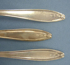 Hostess by Wallace 1855 R Wallace Silverplate 6 French Knives 6 Forks 1920