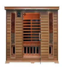 4 Person Elite Infrared Sauna Carbon Fiber Heat Saunas