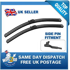 BMW 3 SERIES E90 2005-2009 AERO FLAT WIPER BLADES 24-19FOR SIDE PIN FITMENT