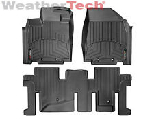 WeatherTech DigitalFit FloorLiner for Infiniti QX60 - 2014-2017 - Black