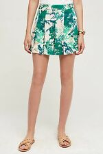 NEW $88.00 Anthropologie Kadu Pleated Skort By Elevenses Sz. 4.