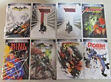 Batman Vs Superman Comic Variant Lot 8 Books Batman Superman Wonder Woman Robin